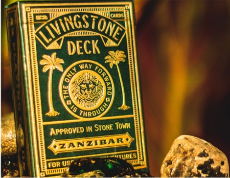 【USPCC撲克】Deluxe Edition Livingstone Playing Cards S103049526