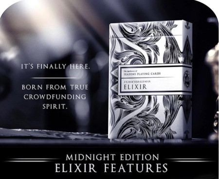 mightnight elixir Playing Cards【USPCC撲克】 S103049458