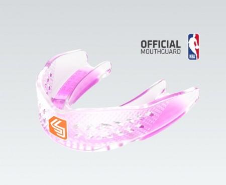 【線上體育】SHOCK DOCTOR 專業籃球運動牙套透明女