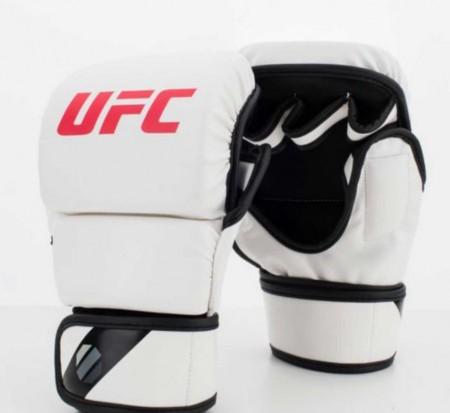 【線上體育】UFC MMA 散打手套,8oz-白 S/M PS090073-00-22-F