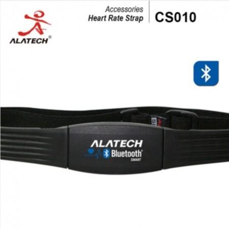 【線上體育】ALATECH CS010藍牙無線運動心率胸帶 (橡膠側扣式束帶)