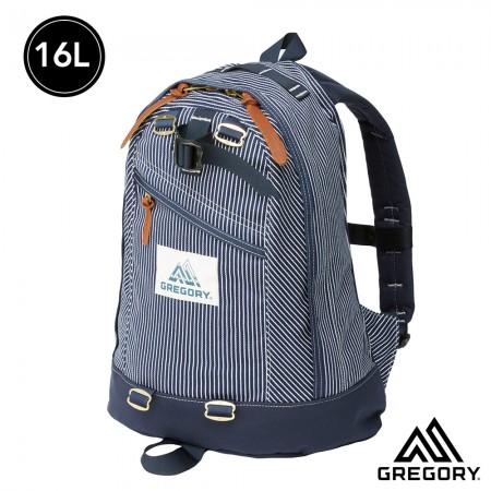 GREGORY GREGORY 16L FINE DAY 後背包 藍白條紋【線上體育】 GG77657-7594