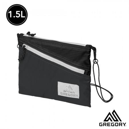 GREGORY 1.5L SACOCHE LT輕量斜背包 黑, OS 【線上體育】 GG85410-1041