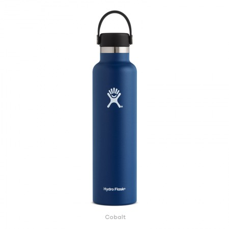 【線上體育】HYDRO FLASK HFS24SX407HYDRATION系列 真空保冷/熱兩用鋼瓶24oz標準口 鈷藍色, OS