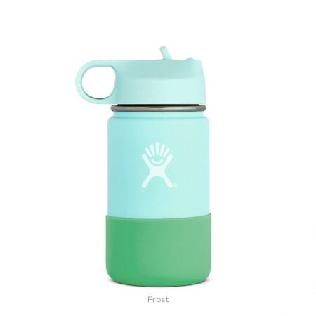 【線上體育】HYDRO FLASK HFW12SWBB44012oz 兒童寬口保溫鋼瓶 冰雪藍, OS