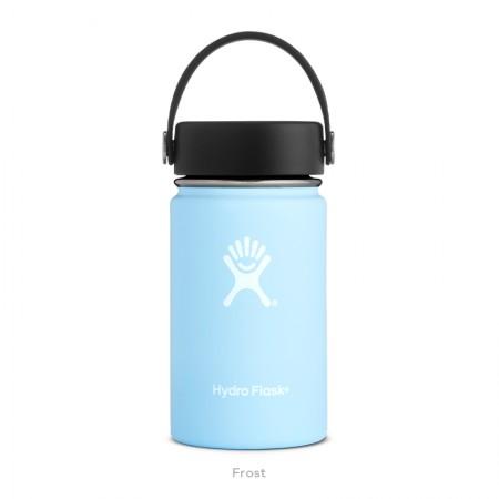 【線上體育】HYDRO FLASK HFW12TS440HYDRATION系列 真空保冷/熱兩用鋼瓶12oz寬口 冰雪藍, OS