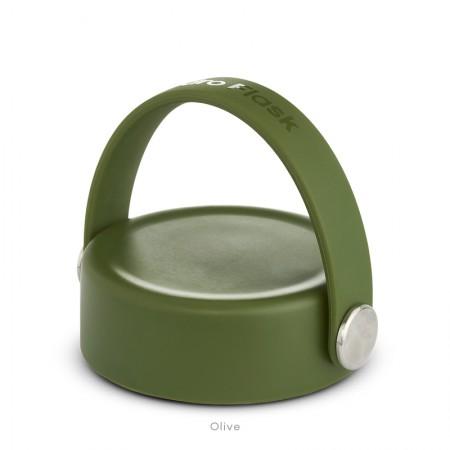 【線上體育】HYDRO FLASK HFWFX306寬口提環型瓶蓋 橄欖綠, OS