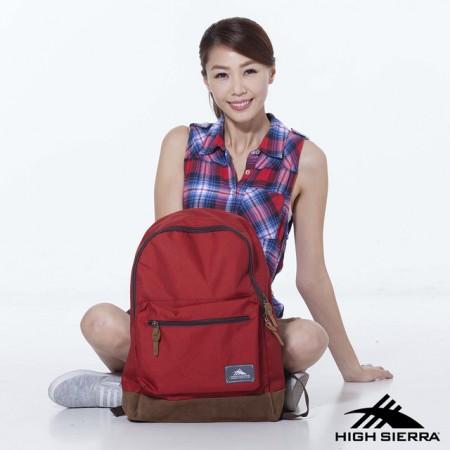 【線上體育】HS79386-112923L ICON SLIM電腦背包 磚紅, OS