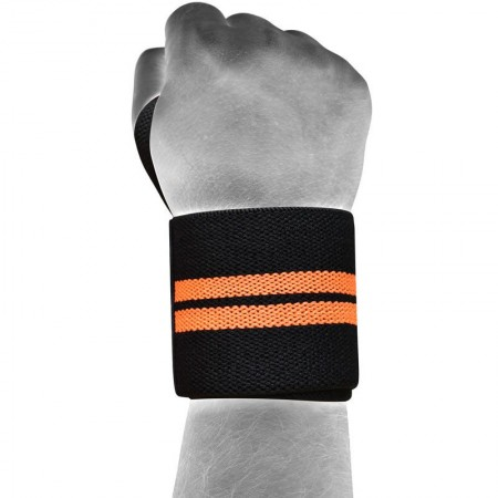 RDX029 【線上體育】RDX 健身 護腕 黑/橘色 NEW