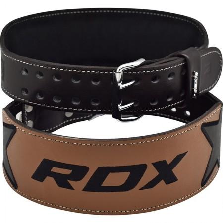"""【線上體育】RDX 舉重腰帶 4"""" EMBROIDERY 黑 RDX057"""