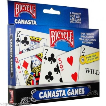 【USPCC撲克】BICYCLE 2 DECK GAME CANASTA S10499515