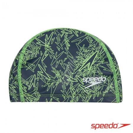 SPEEDO 成人合成泳帽 Boom Ultra Pace 灰【線上體育】SD811237C798