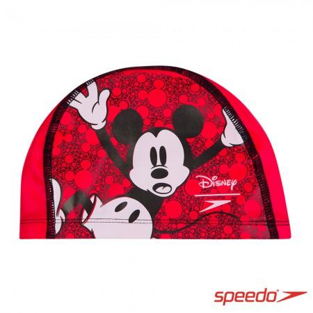SPEEDO 兒童合成泳帽 Pace 米奇【線上體育】SD811307C872