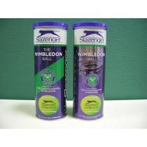【線上體育】Slazenger THE WIMBLEDON BALL 黑豹牌 溫布頓 比賽級網球(每筒三顆)-B21050
