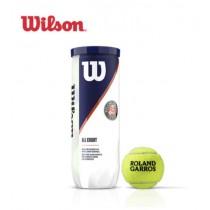 【線上體育】Wilson Roland Garros 網球 法網公開賽 官方用球 All Court 比賽球3顆裝 WRT126400