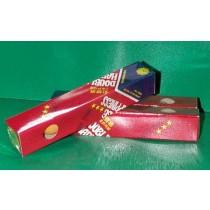 【線上體育】雙喜三星比賽球(橘黃)38mm 6入裝D779