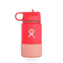 【線上體育】HYDRO FLASK HFW12SWBB61812oz 兒童寬口保溫鋼瓶 西瓜紅, OS