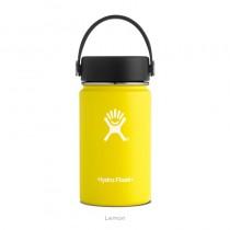 【線上體育】HYDRO FLASK HYDRATION系列 真空保冷/熱兩用鋼瓶12oz寬口 檸檬黃, OS