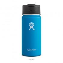 【線上體育】HYDRO FLASK 16oz 咖啡蓋寬口保溫鋼瓶 海洋藍, OS