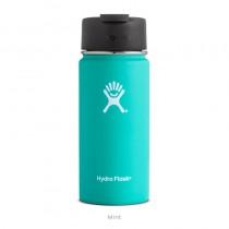 【線上體育】HYDRO FLASK 16oz 咖啡蓋寬口保溫鋼瓶 薄荷綠, OS