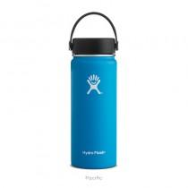 【線上體育】HYDRO FLASK HYDRATION系列 真空保冷/熱兩用鋼瓶18oz寬口 海洋藍, OS