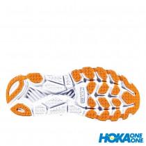 【線上體育】 HOKA ONE ONE女 Clifton 6 寬楦 超緩震跑鞋 罌粟紅/仙人掌花紫, 6~7.5 送salomon頭巾