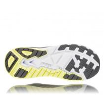 【線上體育】 HOKA ONE ONE男 Arahi 3 寬楦 超緩震跑鞋 木炭灰/萊姆雪酪綠, 8.5~10 送salomon頭巾