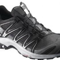 【線上體育】salomon8.5 男 XA PRO 3D GTX 健野鞋 磁鐵灰/黑/珍珠藍, 8.5