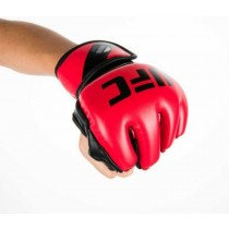 【線上體育】UFC MMA 露指手套,5oz-紅 S/M PS090072-40-22-F