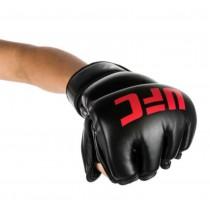 【線上體育】UFC MMA 露指訓練手套,7oz-黑,S/M PS090074-20-22-F