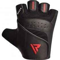 【線上體育】RDX GYM 舉重手套 皮革 S2 黑