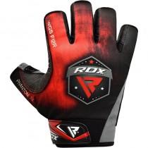 【線上體育】RDX GYM 舉重手套SUMBLIMATION F12 紅