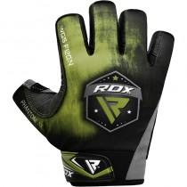 【線上體育】RDX GYM 舉重手套SUMBLIMATION F12 綠色