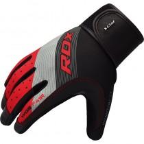 RDX024 【線上體育】RDX 健身 舉重手套SUMBLIMATION F41 紅
