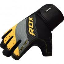 RDX025 【線上體育】RDX 健身 舉重手套SUMBLIMATION F42 黃
