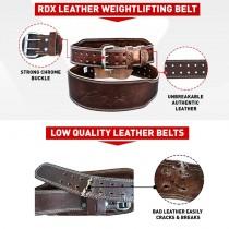 【線上體育】RDX 舉重腰帶 皮革 4'' 棕色 PADDED RDX053