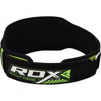 【線上體育】RDX NEO PRENE DOUBLE 舉重腰帶 綠色 RDX058