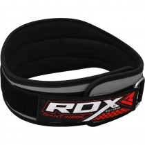 """【線上體育】RDX 舉重腰帶 NEO PRENE 5"""" CURVE 灰 RDX060"""