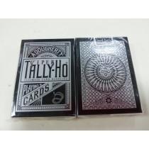 【線上體育】TALLY-HO 銀粉蛇 VIPER 撲克牌 圓形背 CIRCLE