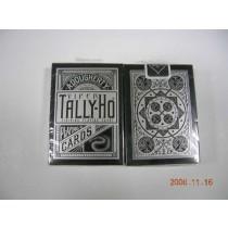 【線上體育】TALLY-HO 銀粉蛇 VIPER 撲克牌 UV500 扇形背 FAN