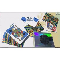 【USPCC撲克】 S103049023 Rainbow Illusion Metallic Playing Cards V2