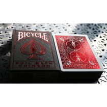 Bicycle Rider Back Crimson Luxe (Red) Version 2 撲克牌【USPCC撲克】S103049633