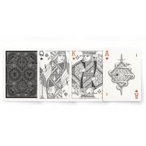 【USPCC撲克】Pedale design MISC GOODS 平紋  V3 黑 S103049685
