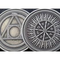 【USPCC撲克】Arcana Antique 鍍銀幣 S103049699-6