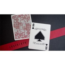 【USPCC撲克】Red Labyrinth Playing Cards S103049722