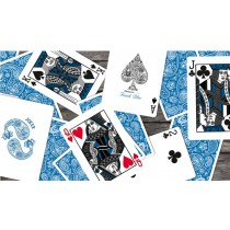 【USPCC撲克】Paisley (French Blue) Playing Cards S103049729