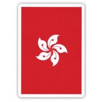 【簡子製造】洋紫荊 紅 Bauhinia Red Playing Cards S103050362