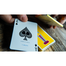 【USPCC 撲克】Gilded Vintage Feel Jerry's Nuggets (Yellow) Playing Cards S103050806
