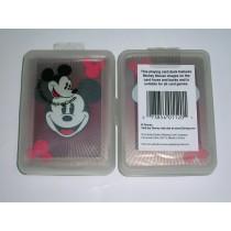 【USPCC撲克】DISNEY 米老鼠(透明)撲克牌1付裝