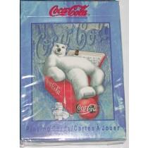 【USPCC撲克】可口可樂北極熊撲克牌-登山冰桶版